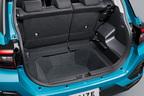 トヨタ 新型車ライズ ラゲージアレンジ (デッキボード取り外し時)