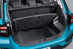 トヨタ 新型車ライズ ラゲージアレンジ (デッキボード立て掛け時)
