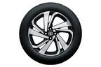 トヨタ 新型車ライズ 195/60R17タイヤ&17×6Jアルミホイール (切削光輝+ブラック塗装)
