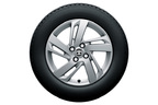 トヨタ 新型車ライズ 195/65R16タイヤ&16×6Jアルミホイール (シルバー塗装)