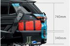 トヨタ 新型車ライズ ラゲージアレンジ (デッキボード上段時サイズ)