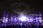 """東京モーターショー初の夜空のスペクタルショー「FUTURE DRONE ENTERTAINMENT """"CONTACT""""」"""