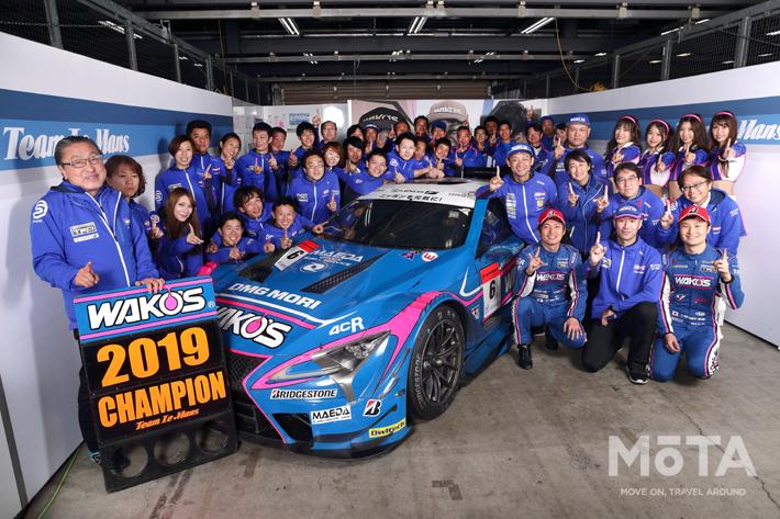 SUPER GT最終戦 6号車 大嶋 和也選手/山下 健太選手組が2位に入り年間チャンピオン獲得!