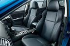 スバル レヴォーグ特別仕様車「2.0GT EyeSight V-SPORT」ファブリック/トリコットシート(シルバーステッチ)