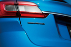 スバル レヴォーグ特別仕様車「2.0GT EyeSight V-SPORT」シンメトリカルAWDリアオーナメント(ラスターブラック)