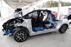トヨタ 新型ヤリス(プロトタイプ) カットモデル
