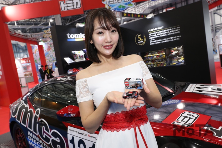 トミカブースは展示だけでなくトミカも買える楽しいブースだった【東京モーターショー2019】