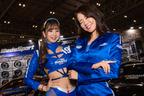 WedsSportでは、セクシーなスケスケ衣装と美脚が眩しい美女たちが登場【東京オートサロン2020】