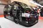 レガンスの自社パーツを装着したデモカーとファインテックツアラーをベースにしたコンプリートカーを展示【東京オートサロン2020】