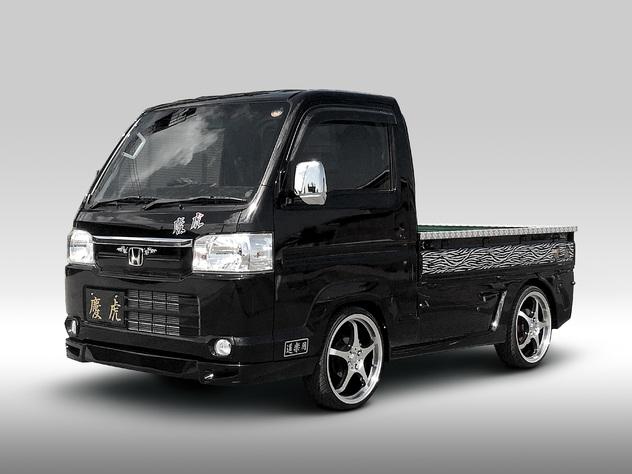 慶虎エアロシリーズ HA8/HA9アクティ用 慶虎サスペンション使用