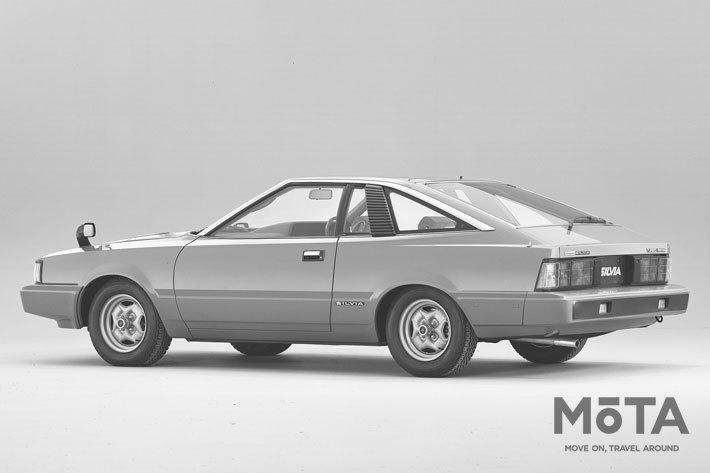 写真は日産 シルビア ハッチバック Turbo ZSE-X G[S110型・後期型・1981年]