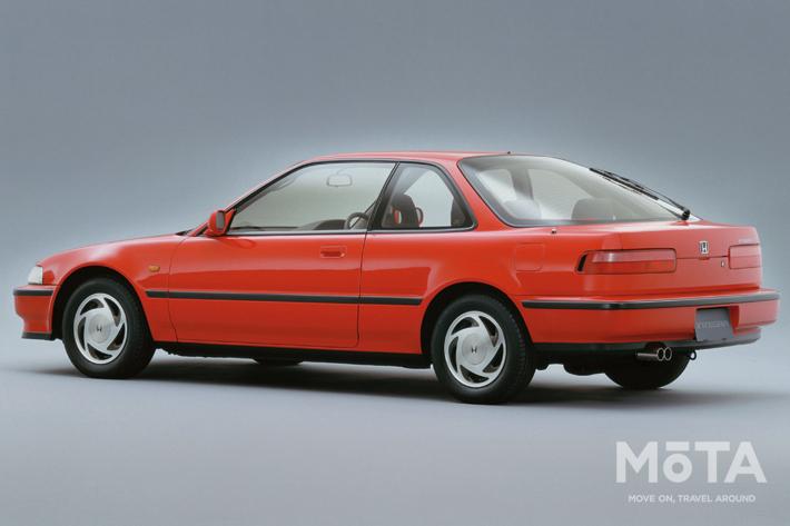 ■全長×全幅×全高:4390mm×1695mm×1325mm ■エンジン:直列4気筒 1595cc ガソリン ■最高出力:160PS/7600rpm ■最大トルク:15.5kg・m/7000rpm ■トランスミッション:5速MT ■駆動方式:FF ■販売期間:1989年~1993年 ※スペックは、1989年式 1.6 XSi
