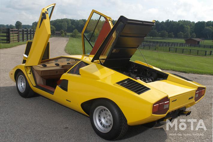スーパーカーブームの立役者「ランボルギーニ カウンタック」,そしてこちらもファンの多い「フェラーリ 365GT4/BB」