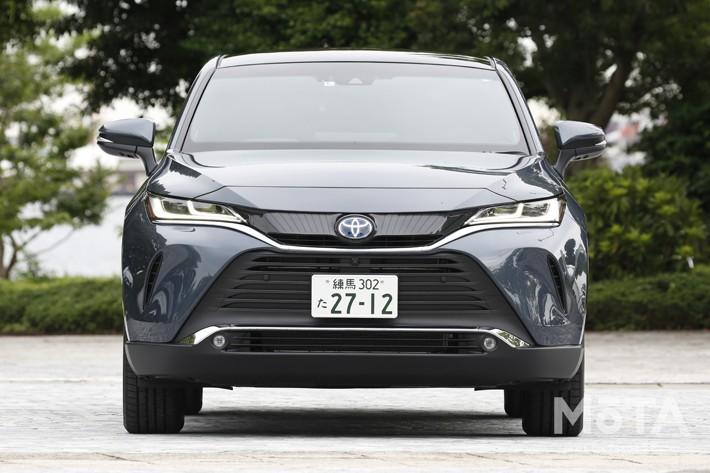 トヨタ 新型ハリアー Z(ハイブリッド・FF) [撮影:島村 栄二]