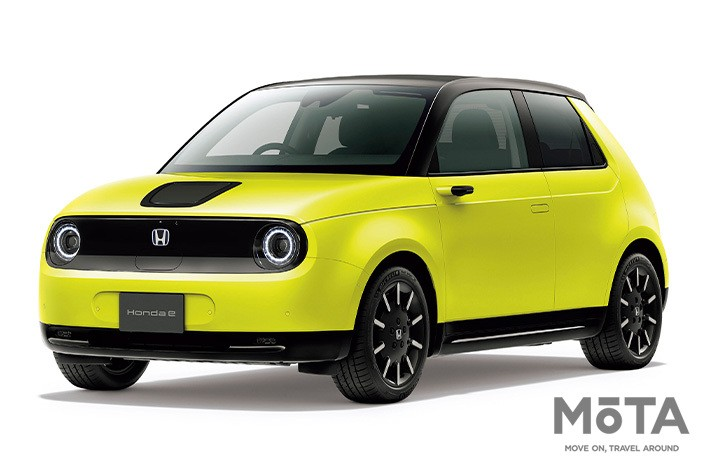 Honda e (ホンダ e)Advance 外装色:チャージイエロー