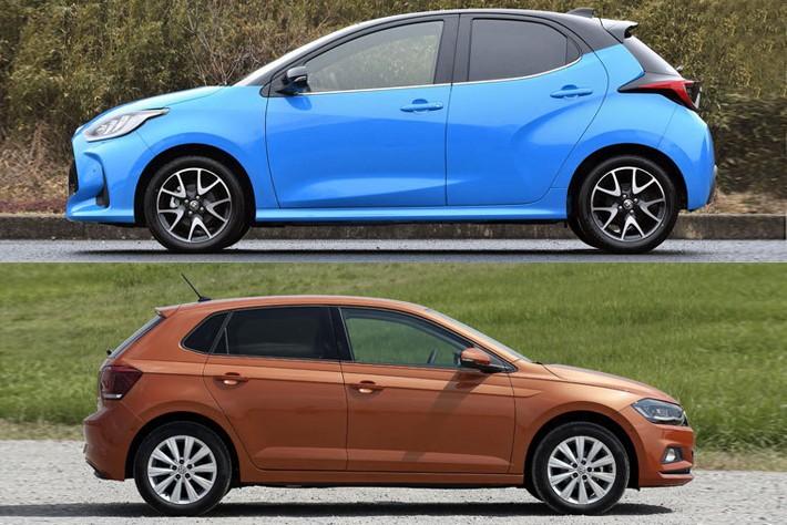 新型ヤリス vs VW ポロ
