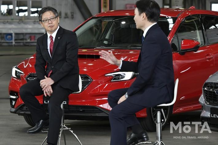 (左)北田 裕一 日本航空株式会社 取締役常務執行役員 整備本部長/株式会社JALエンジニアリング 代表取締役社長