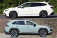 話題の新型レヴォーグとRAV4、ジャンルは違えど人気モデルの2台をサクッと比較!