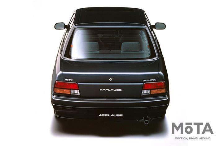 ■全長×全幅×全高:4260mm×1660mm×1375mm ■エンジン:直列4気筒 1589cc ガソリン ■最高出力:120PS/6300rpm ■最大トルク:14.3kg・m/4800rpm ■トランスミッション:4速AT ■駆動方式:FF ■販売期間:1989年~2000年 ※スペックは、1989年式 16Ri