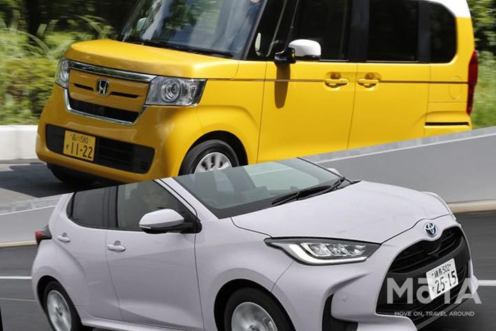 ホンダ N-BOX/トヨタ ヤリス 2020年10月度普通車/軽自動車販売ランキング