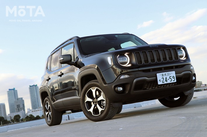 「Jeep Renegade 4xe(ジープ レネゲード フォー・バイ・イー)」[プラグインハイブリッド] Jeep Renegade Trailhawk 4xe(ジープ レネゲード トレイルホーク フォー・バイ・イー)[Photo:MOTA編集部]