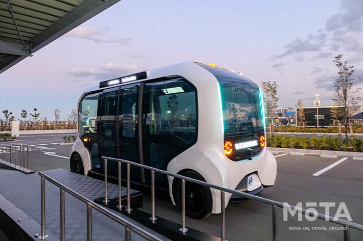 トヨタの自動運転専用EV「e-Palette(イーパレット)」は東京2020選手村の輸送車両として使用される予定だった