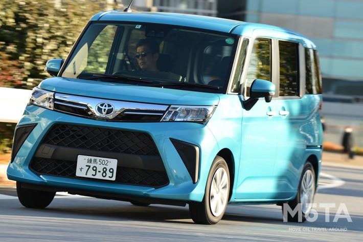 トヨタ ルーミー(2020年マイナーチェンジモデル) グレード:G