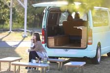 ハイエースの使い道が広がる高機能ベッドキット! キャンプ・車中泊をオシャレで快適にするなら「7th E-Life!」がオススメ   クラフトプラス Vol.8