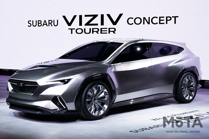 2018年登場の「VIZIV TOURER CONCEPT」,2020年登場の新型「レヴォーグ」(2代目)