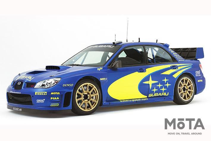 写真は2006年 WRC(世界ラリー選手権)参戦車両(プロトタイプ)