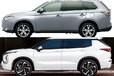 どっちがお好み!? フルモデルチェンジで注目される三菱 アウトランダーの新旧モデルを写真で徹底比較!
