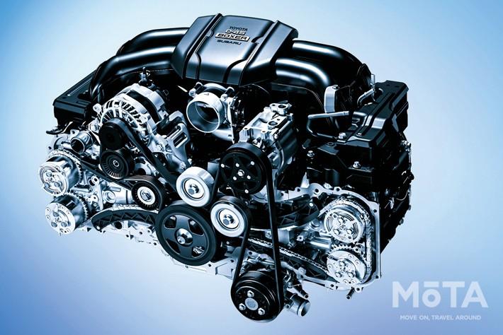 新型BRZの2.4リッター水平対向エンジン