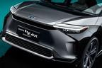 ステアリングが操縦かん!? トヨタがハリアー似の新型EV(電気自動車)「bZ4X(ビーズィーフォーエックス)」を2022年に発売へ!
