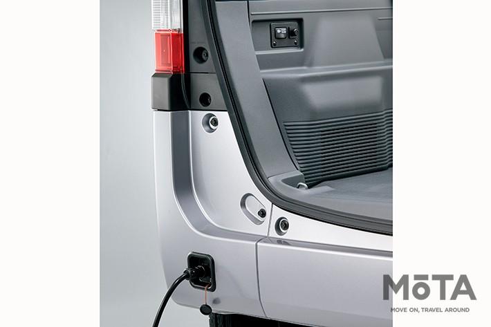 外部電源入力キット[AC100V/最大1500W/外部接続用ケーブル付(5m)]/3万7400円(ホンダアクセス), 近年はキャンプ場や車中泊専用スポットRVパークなどに「電源付きサイト」が設けられているので有効活用したい