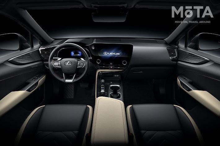 レクサス 新型NXのインテリア(海外仕様車)