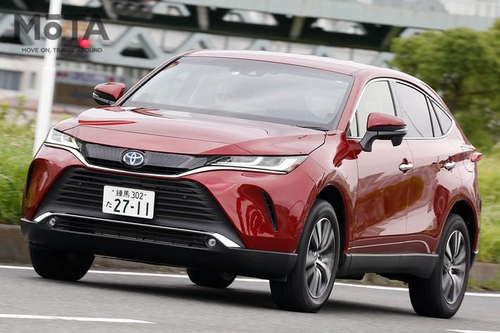 2020年6月発表以来、安定した売れ行きを誇る「トヨタ ハリアー」