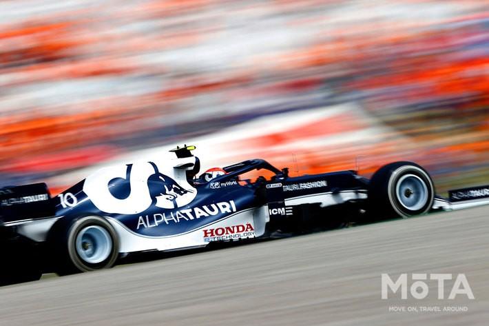 Scuderia AlphaTauri Honda 10号車/Pierre Gasly(ピエール・ガスリー)選手