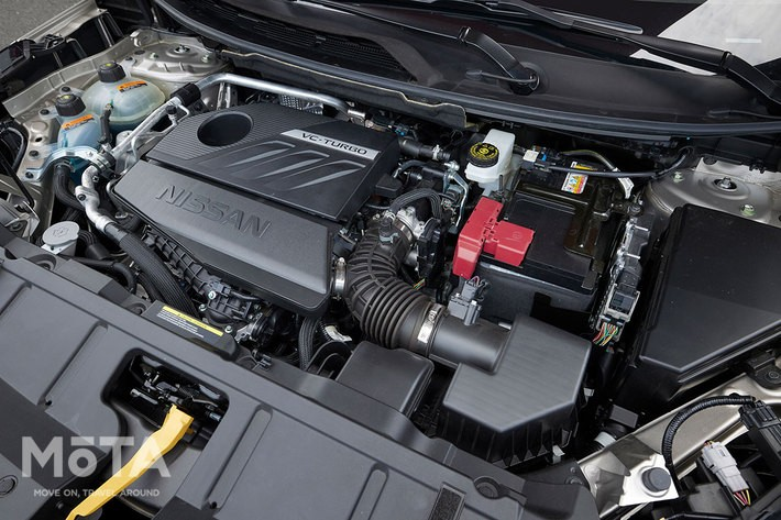 新開発の1.5リッターVCターボエンジン