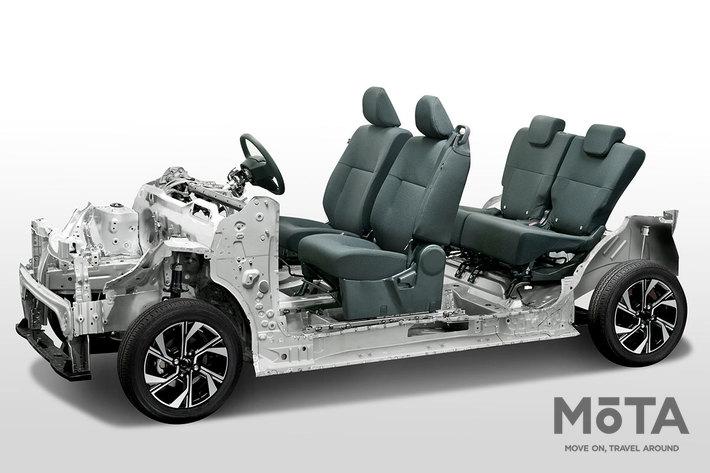 軽スーパーハイトワゴンの中で最も新しい現行型「ダイハツ タント」,現行型タントは2019年7月登場。新開発のプラットフォーム「DNGA」を初採用した