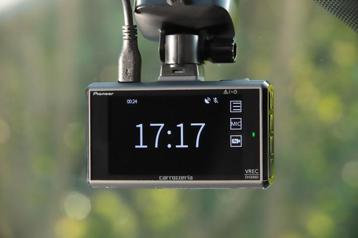 2カメラタイプドライブレコーダー『VREC-DH300D』/パイオニア カロッツェリア