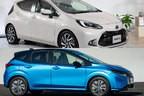 トヨタ 新型アクアと日産 新型ノートの内装を比較! コンパクトハイブリッドカーの室内は断トツでノートが広かった