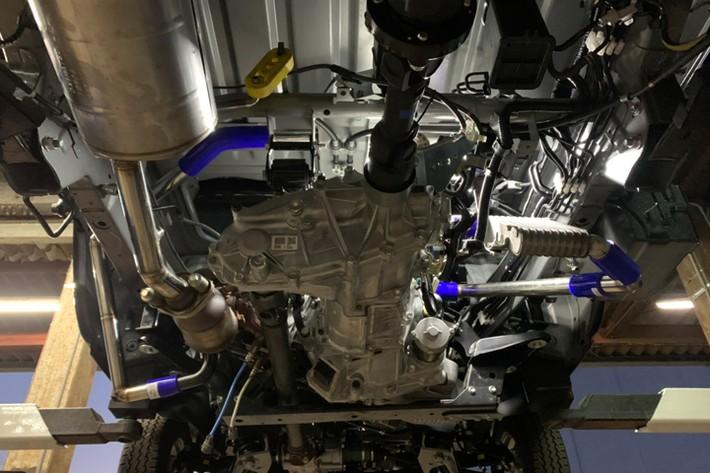 ハイゼットトラック純正エンジンのターボ化/但東自動車