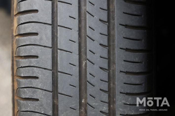 タイヤの偏摩耗や片減りにも注意が必要だ