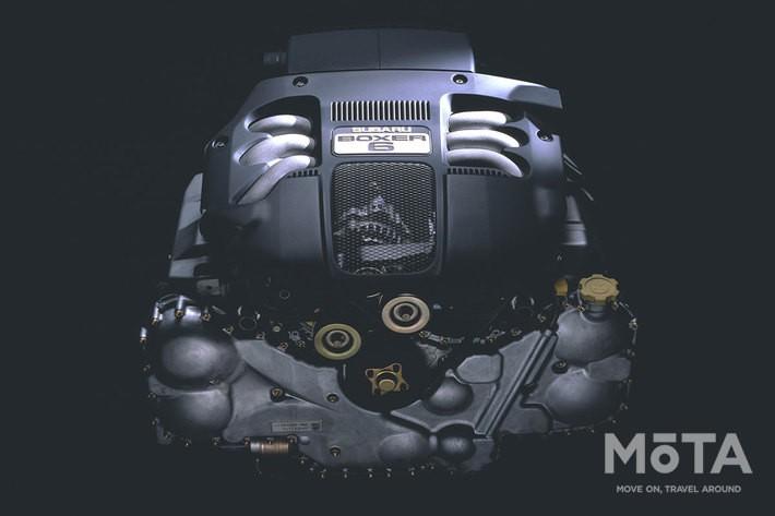 ランカスター6(2000年),水平対向「ボクサー6」3リッターエンジン