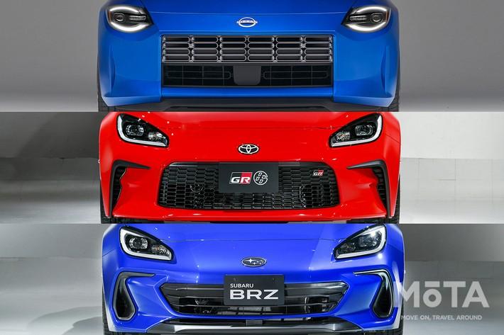 トヨタ 新型GR86 vs スバル 新型BRZ vs 日産 新型フェアレディZ