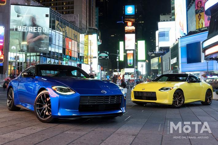 2021年8月17日(現地時間)に世界初公開された日産 新型Z(日本名:新型「フェアレディZ」) 北米仕様 2023年モデル[米国・ニューヨークで開催された特別イベントにて] [Photo:NISSAN]