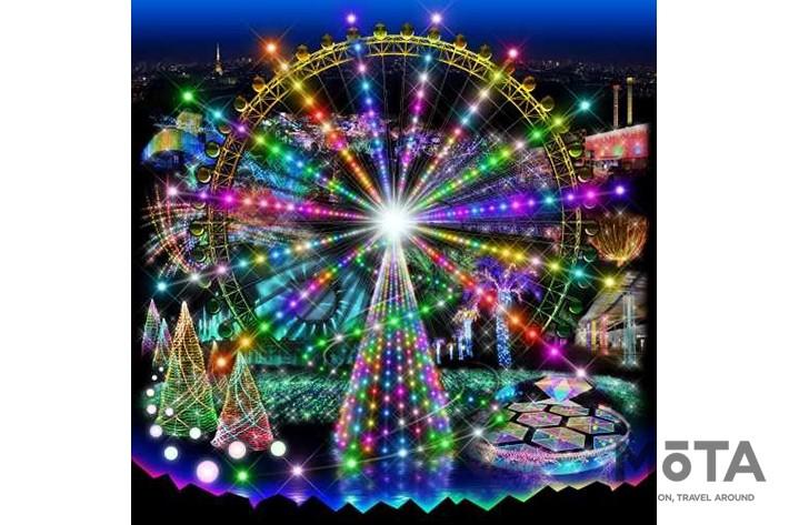 よみうりランド ジュエルミネーション 希望の輝き!~多様な光のシンフォニー~