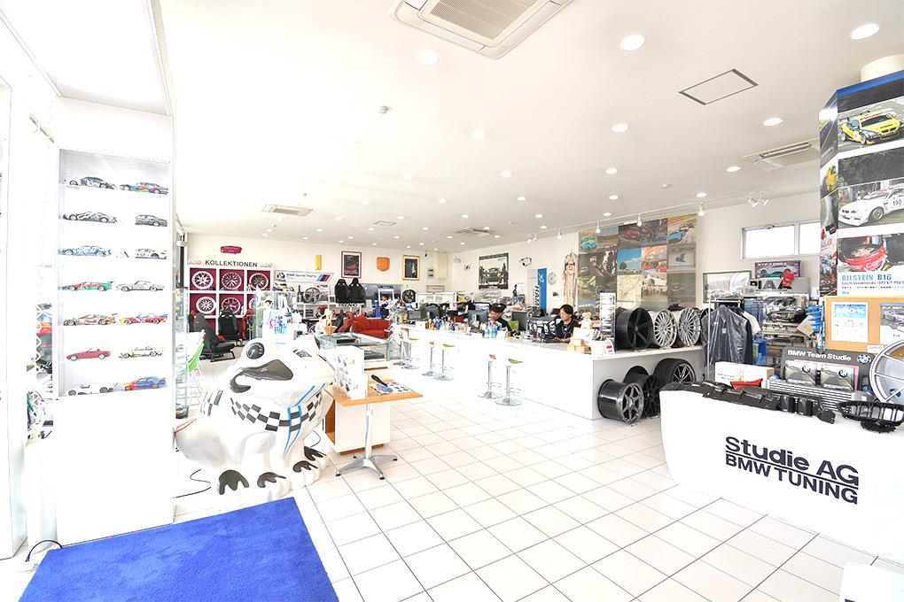 四半世紀に渡ってBMWをイジってきたプロショップ スタディ東京店