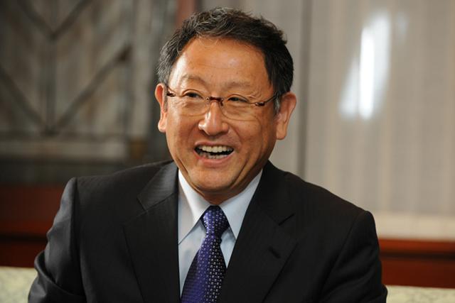 社長に訊く ~トヨタ自動車株式会社代表取締役社長 豊田章男~